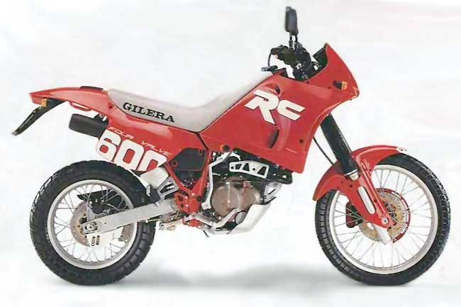 Gilera 600 Nordwest (reduced effect) 1992 #4