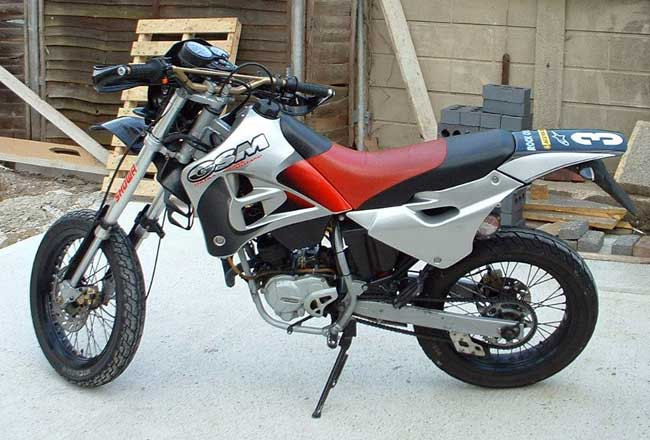 Gilera 600 Nordwest (reduced effect) 1992 #6