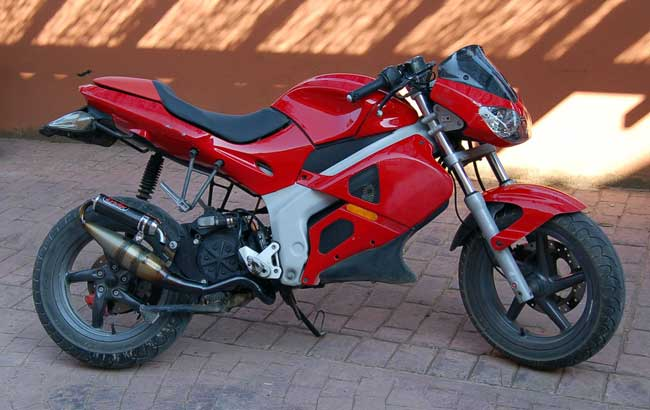 Gilera 600 Nordwest (reduced effect) 1992 #9
