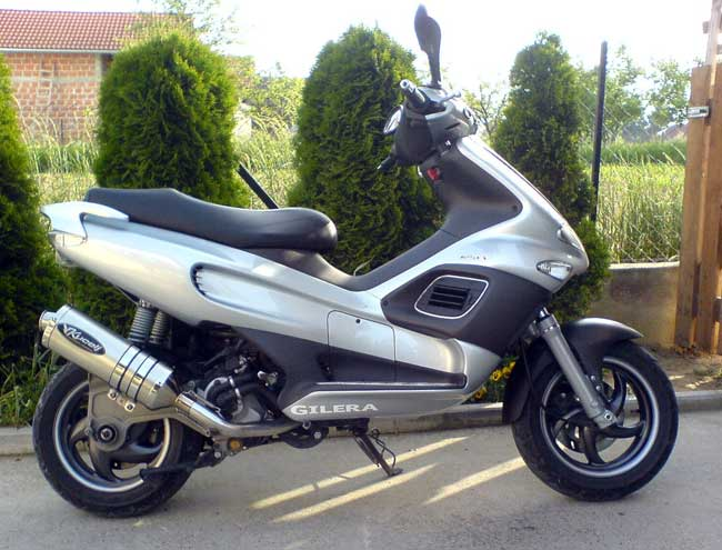 Gilera NGR 250 (reduced effect) #8