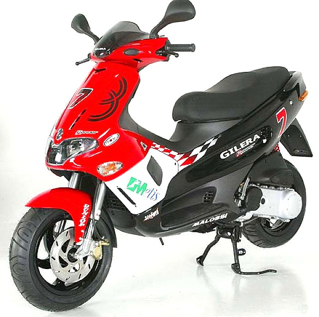 Gilera Runner Racing Replica #4