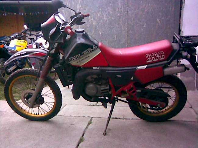 Gilera RX 200 Arizona #1