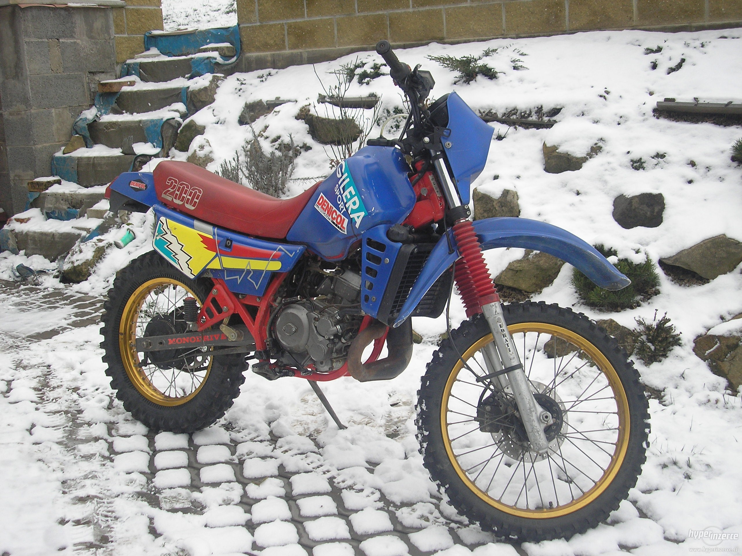 Gilera RX 200 Arizona 1987 #6