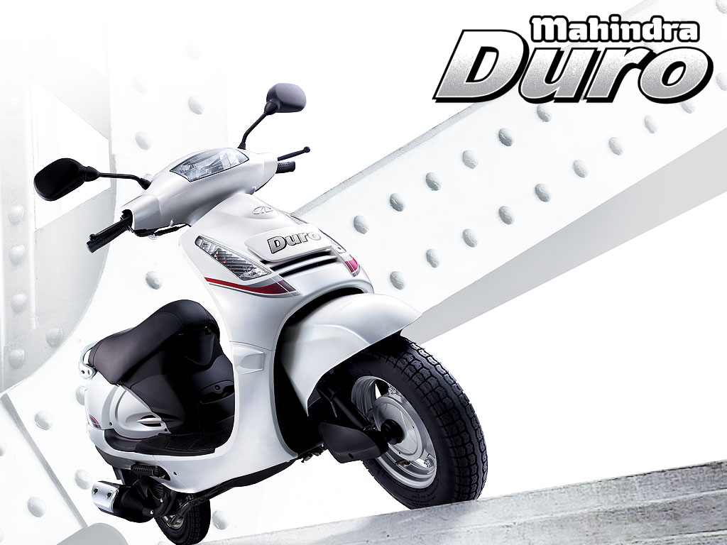 Go the Distance, Go with the Mahindra Duro Scooter Bike #10