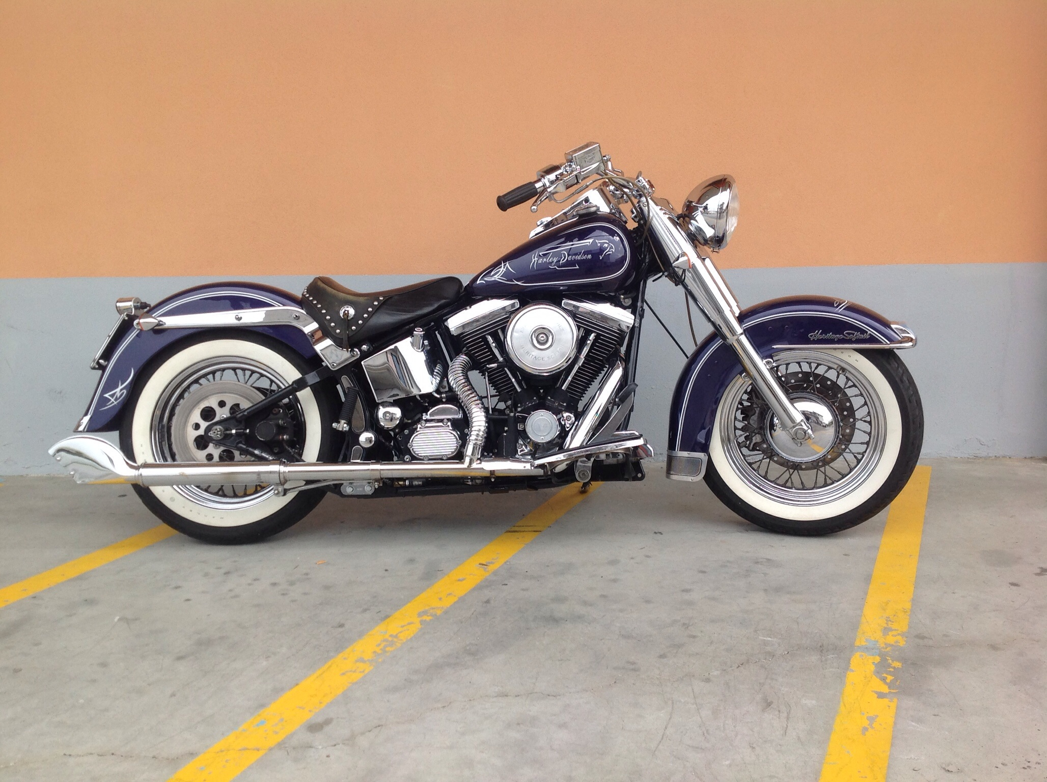 Harley-Davidson 1340 Heritage Softail Classic 1995 #7
