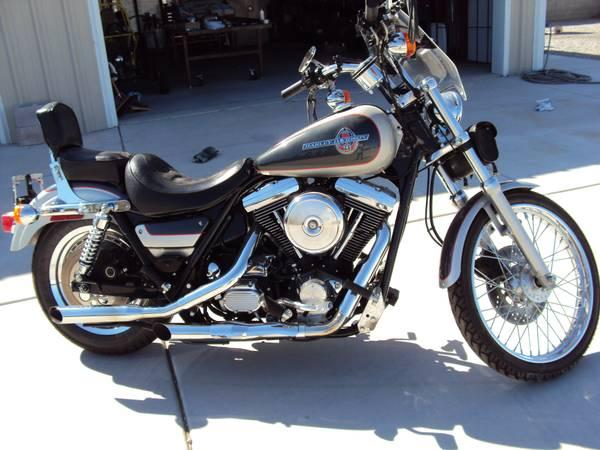 Harley-Davidson 1340 Low Rider Custom 1993 #4