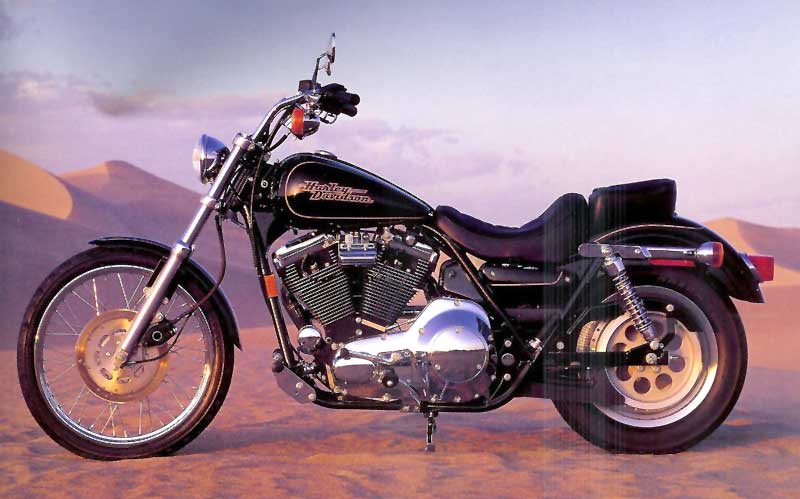 Harley-Davidson 1340 Low Rider Custom 1993 #6