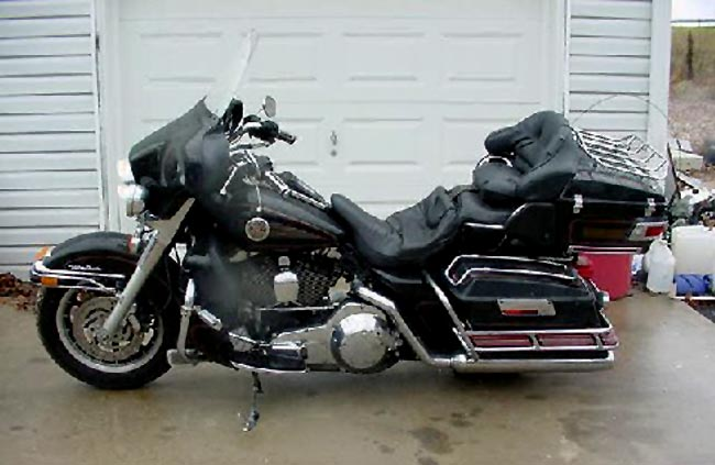 Harley-Davidson 1340 Tour Glide Ultra Classic (reduced effect) 1989 #3