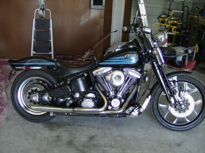 Harley-Davidson Bad Boy 1996 #2