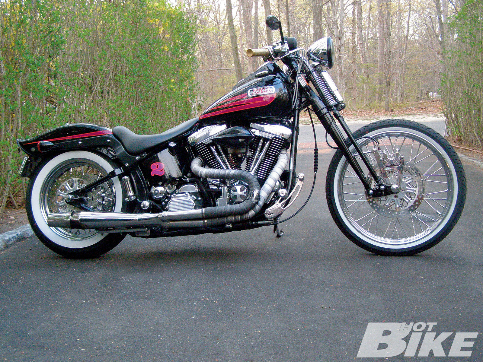Harley-Davidson Bad Boy 1996 #5
