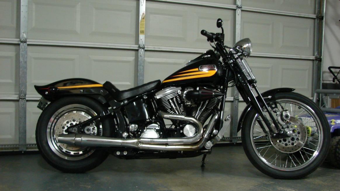 Harley-Davidson Bad Boy 1996 #6