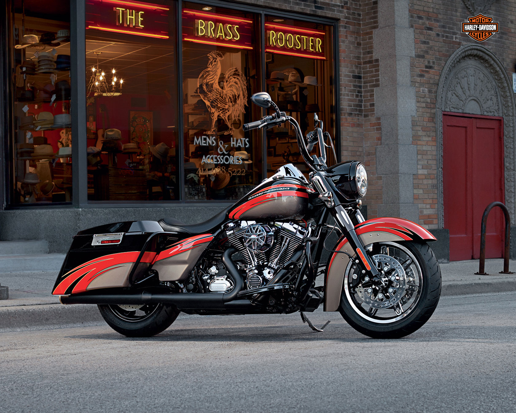 Harley-Davidson CVO Road King 2013 #4