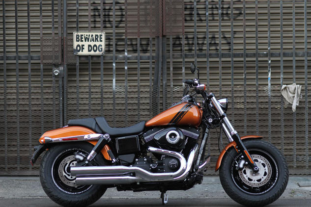 2014 Harley-Davidson Dyna Fat Bob Dark Custom #6