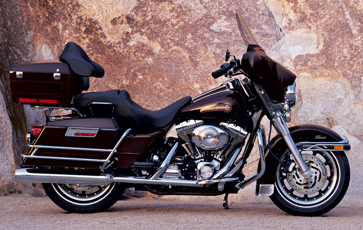 Harley-Davidson Electra Glide Ultra Classic (reduced effect) 1991 #10