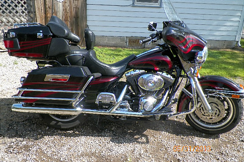 Harley-Davidson Electra Glide Ultra Classic (reduced effect) 1992 #13
