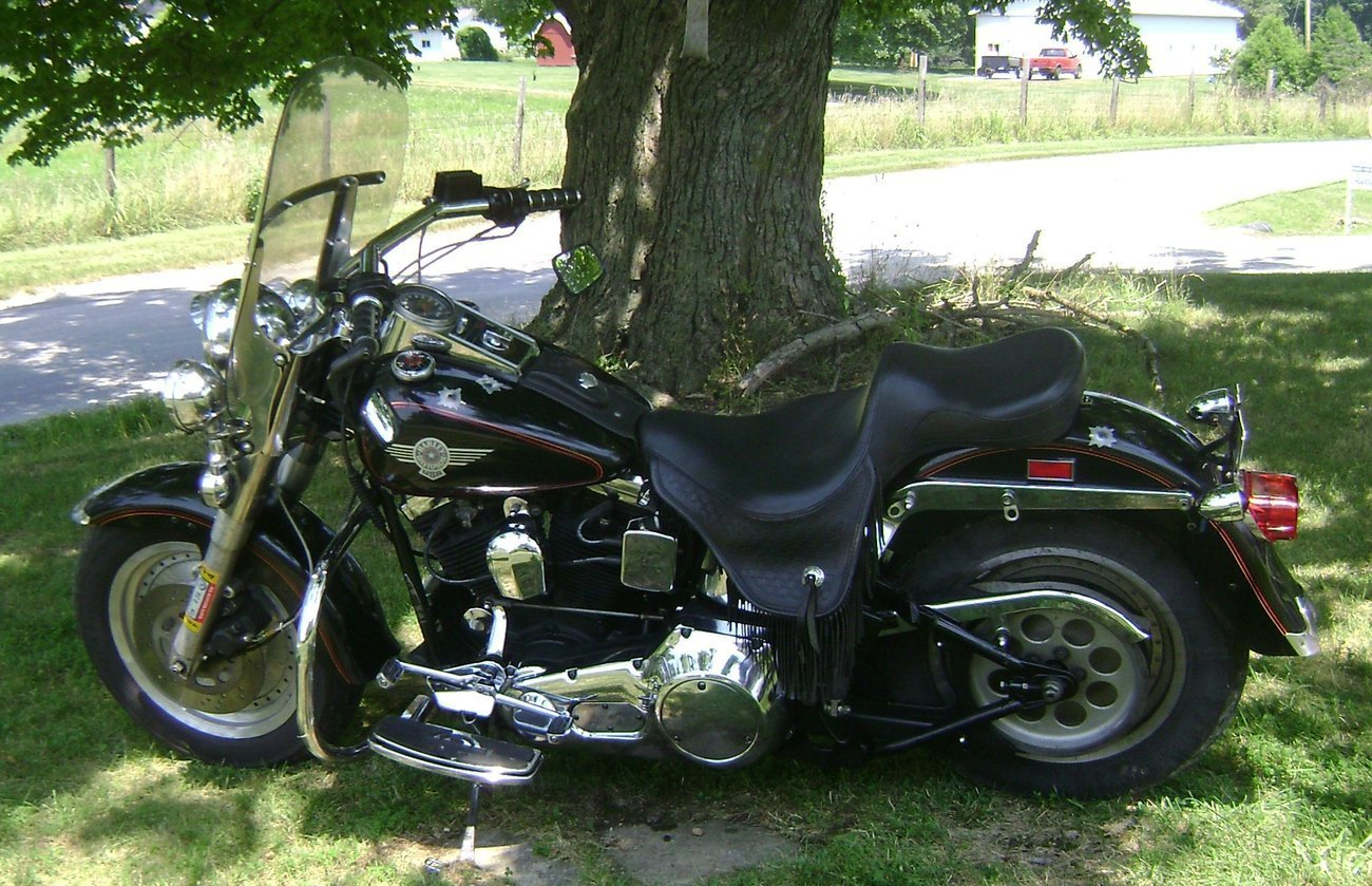 Harley-Davidson Fat Boy 1992 #8