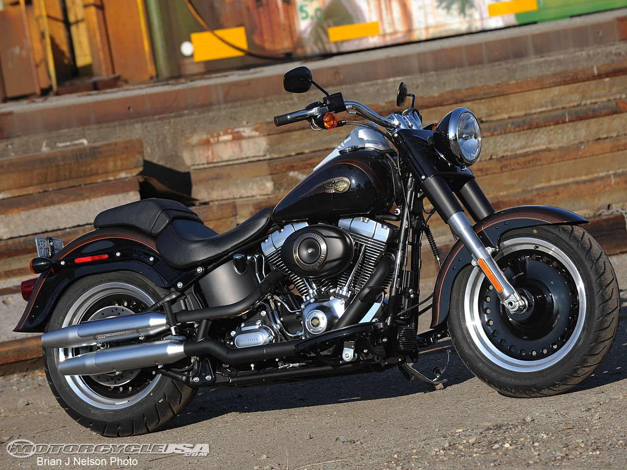 Harley-Davidson Fat Boy Lo 110th Anniversary 2013 #10