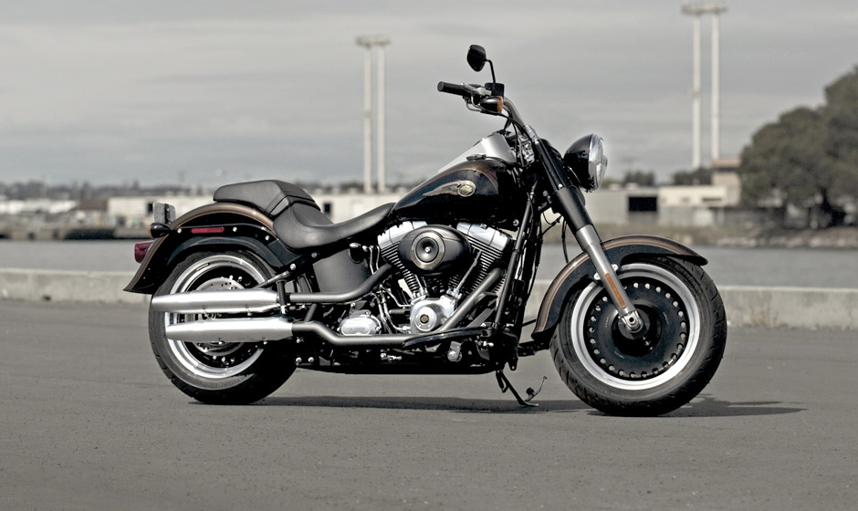 Harley-Davidson Fat Boy Lo 110th Anniversary 2013 #3