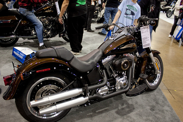 Harley-Davidson Fat Boy Lo 110th Anniversary 2013 #6