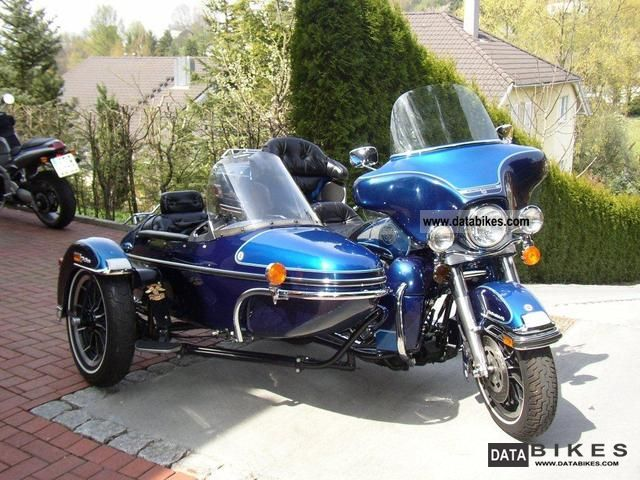 Harley-Davidson FLHC 1340 EIectra Glide Classic (with sidecar) 1981 #12