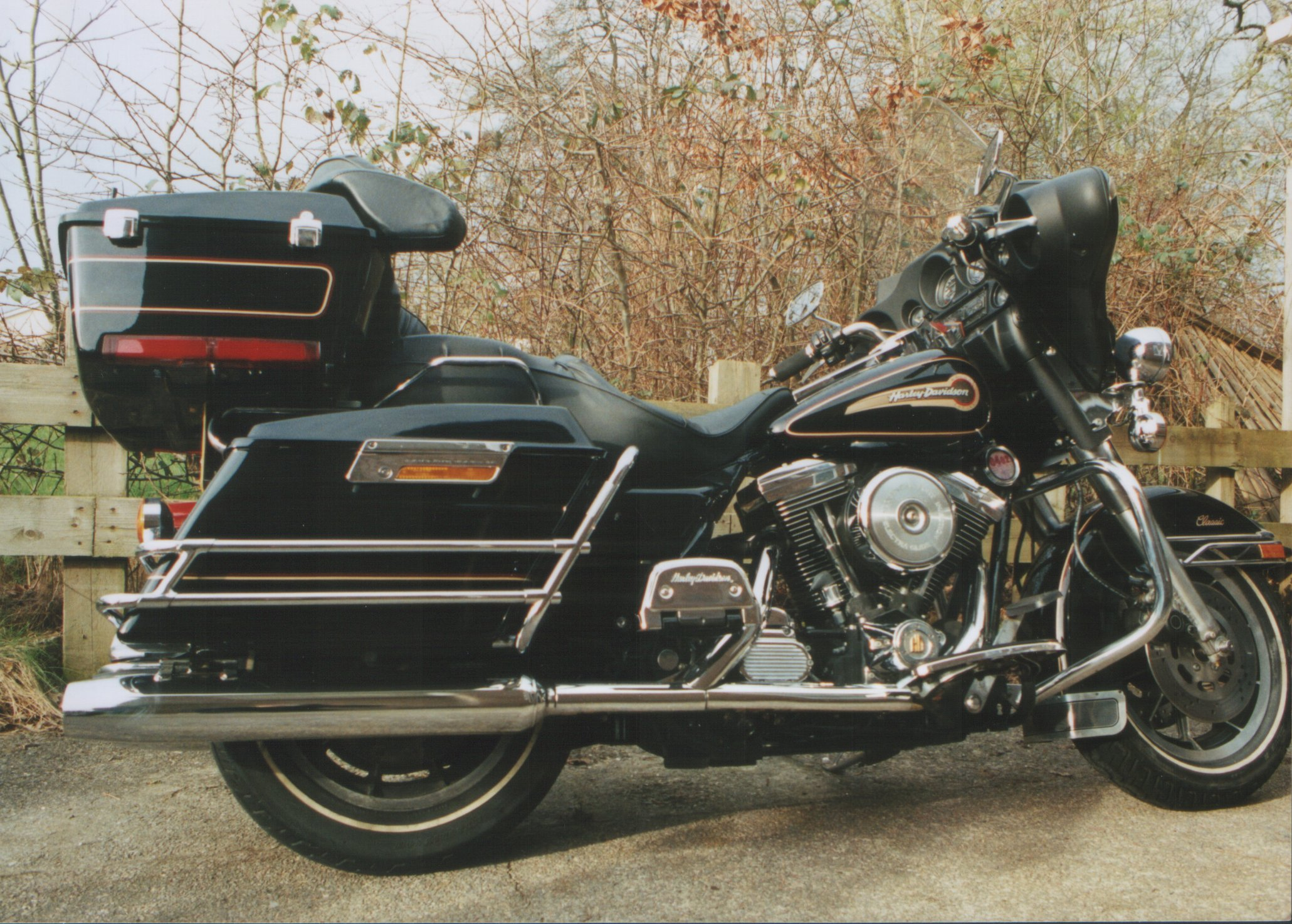 Harley-Davidson FLHC 1340 EIectra Glide Classic (with sidecar) 1982 #1