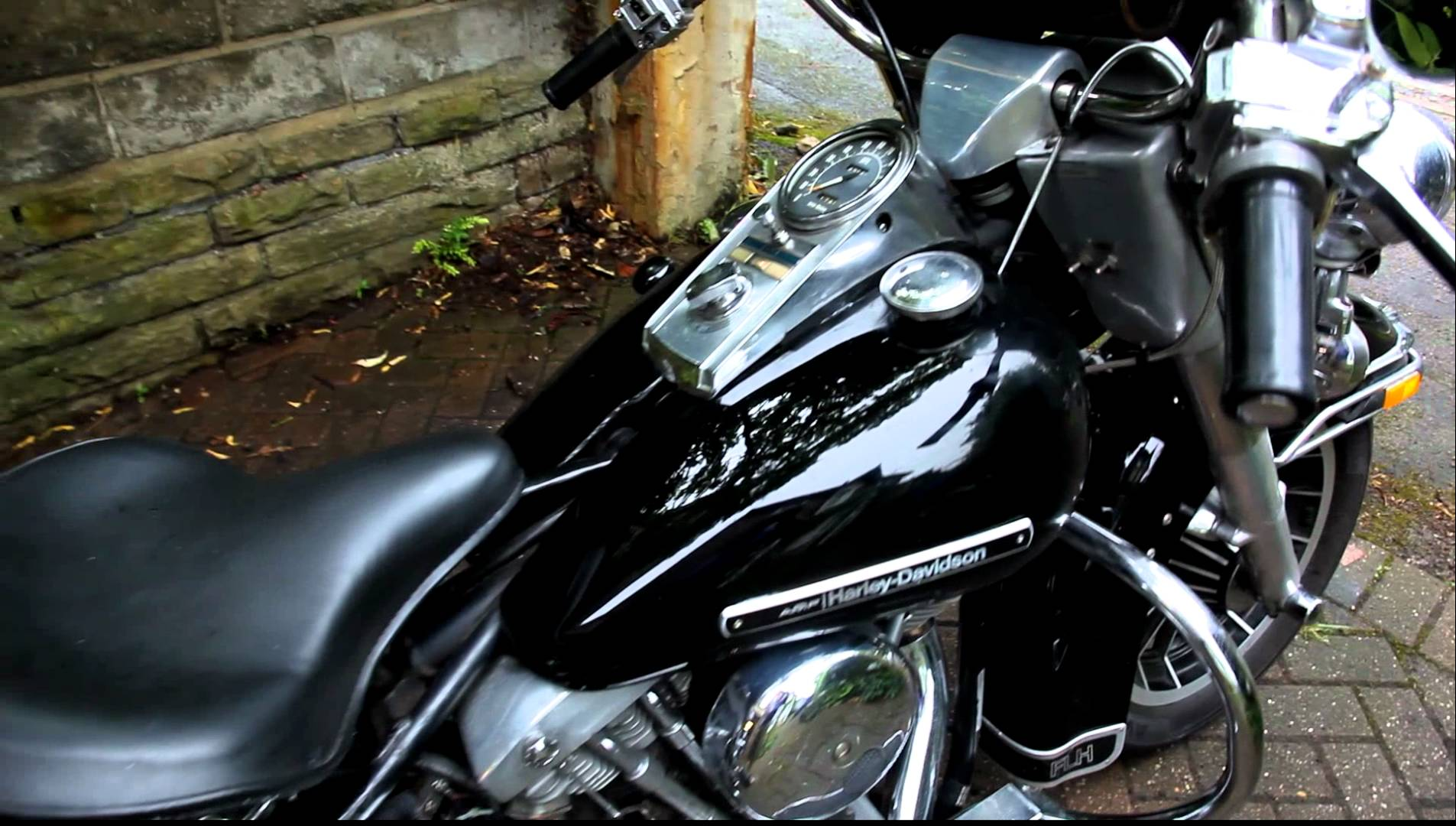 Harley-Davidson FLHC 1340 EIectra Glide Classic (with sidecar) 1982 #8