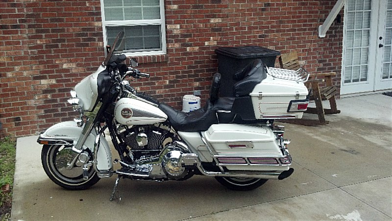 Harley-Davidson FLHC 1340 EIectra Glide Classic (with sidecar) 1982 #9