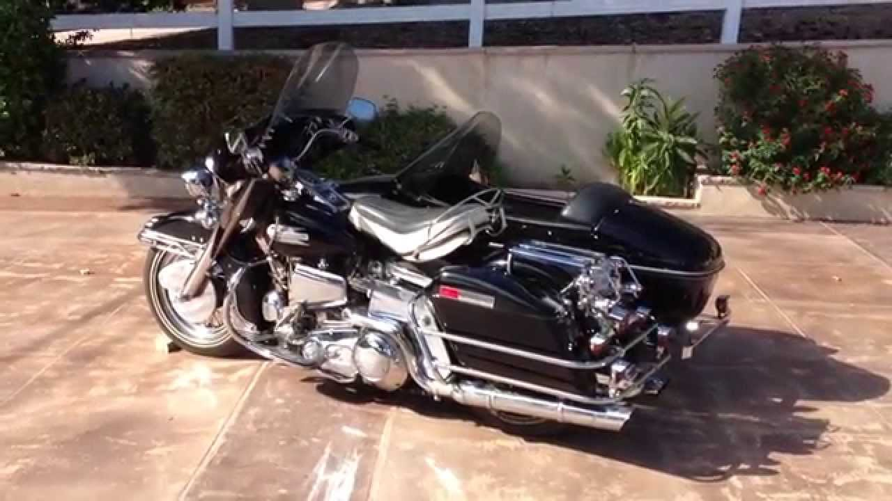 Harley-Davidson FLHC 1340 EIectra Glide Classic (with sidecar) 1982 #10