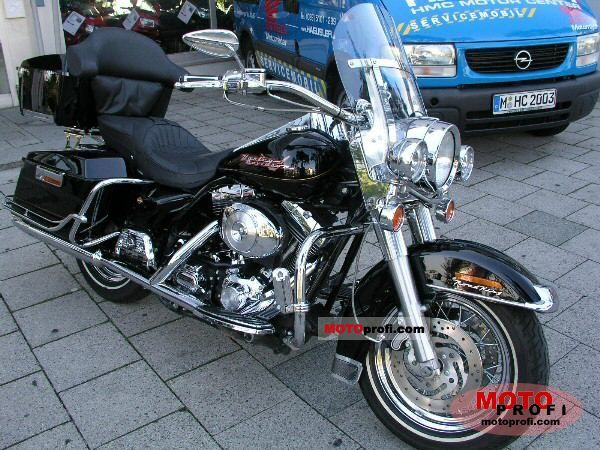 Harley-Davidson FLHP Road King Fire Rescue #10