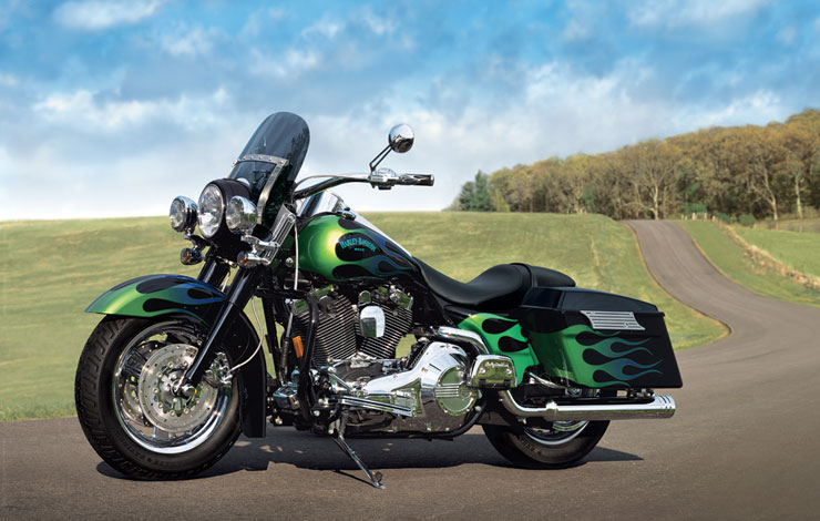 Harley-Davidson FLHR Road King 2012 #8