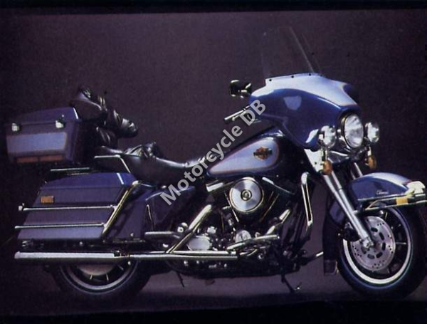 Harley-Davidson FLHTC 1340 Electra Glide Classic 1989 #2