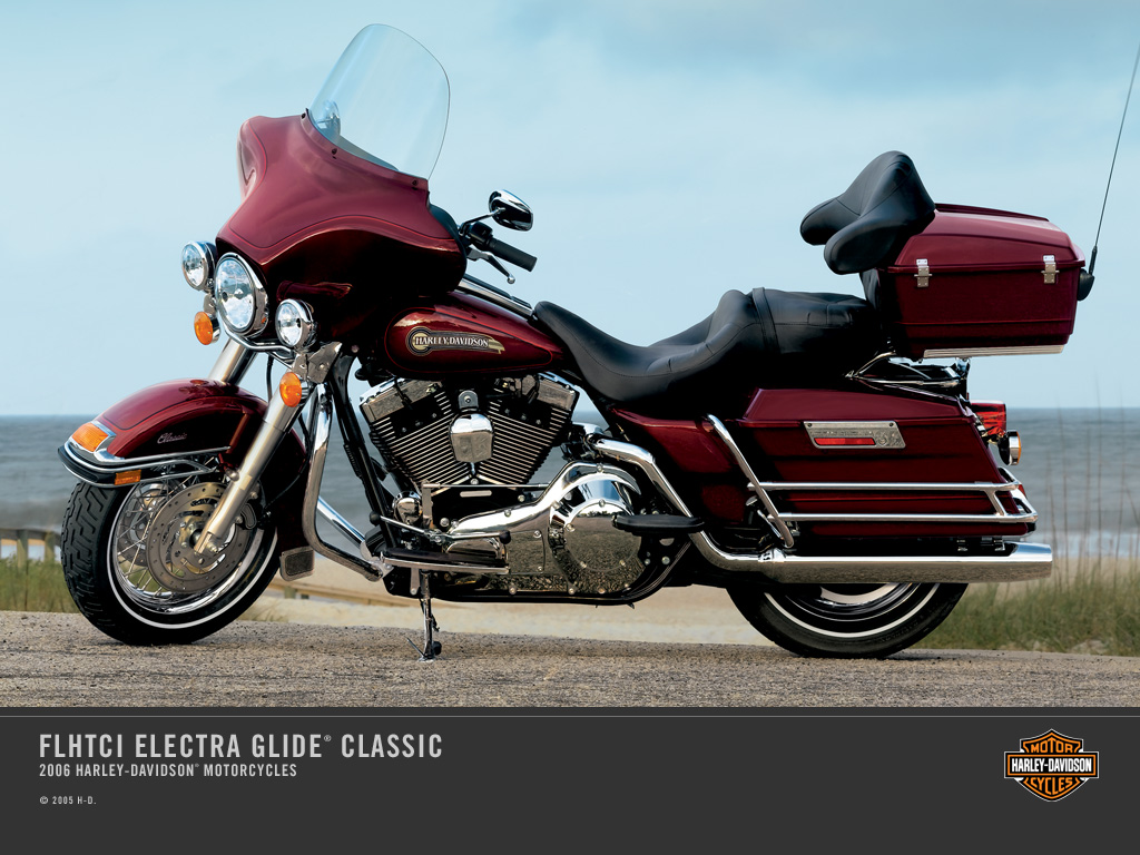 Harley-Davidson FLHTC 1340 Electra Glide Classic (reduced effect) #11