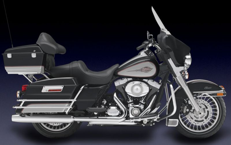Harley-Davidson FLHTC Electra Glide Classic 2010 #8