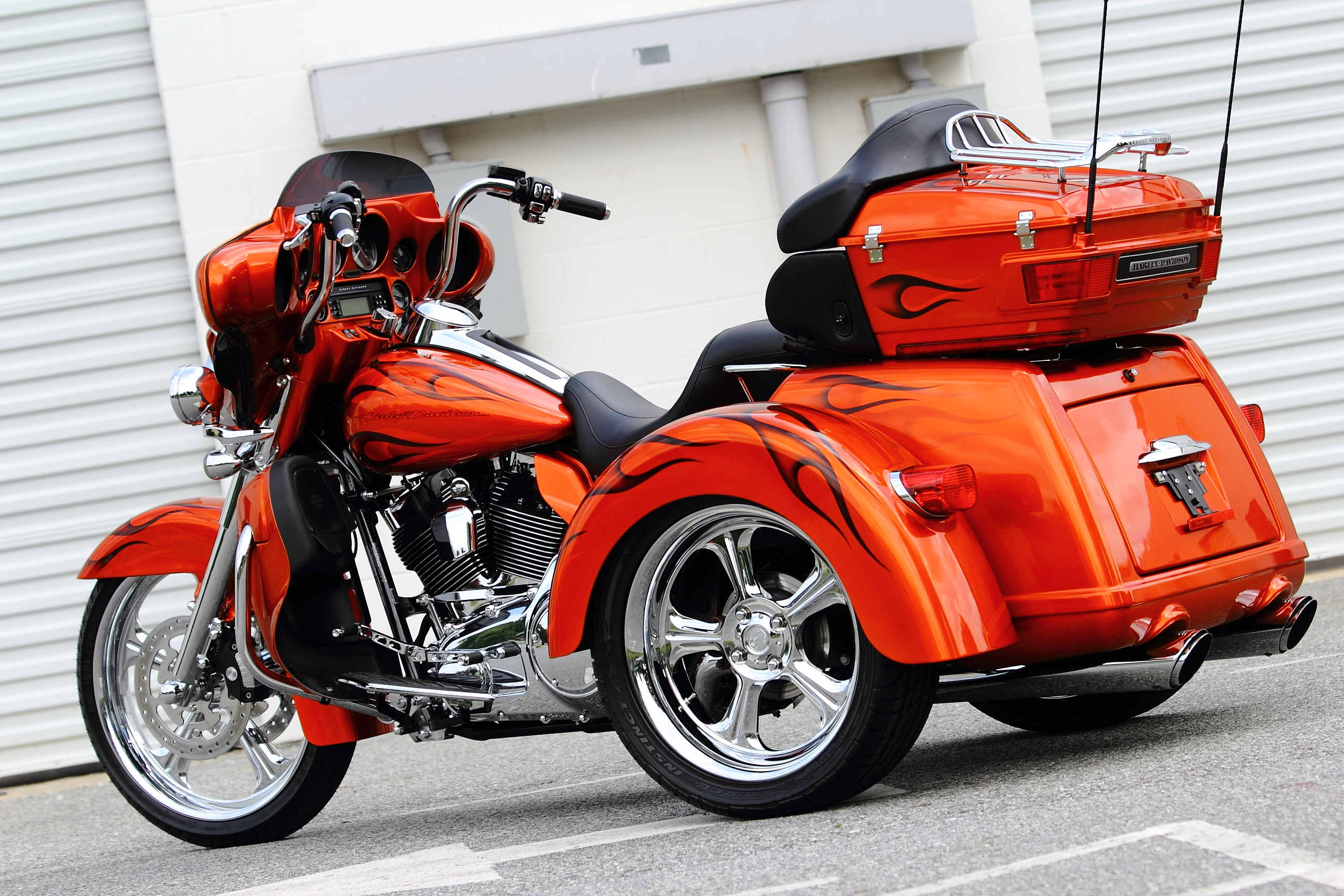 Harley Davidson Motorcycles With Reverse