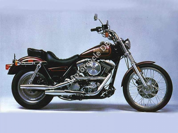 Harley-Davidson FLST 1340 Heritage Softail (reduced effect) 1988 #1