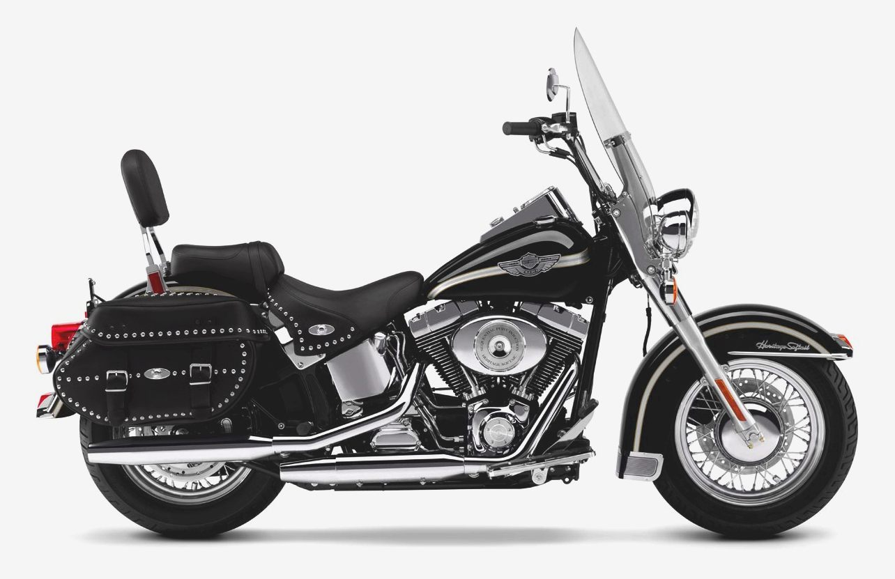 Harley-Davidson FLST 1340 Heritage Softail (reduced effect) 1988 #9