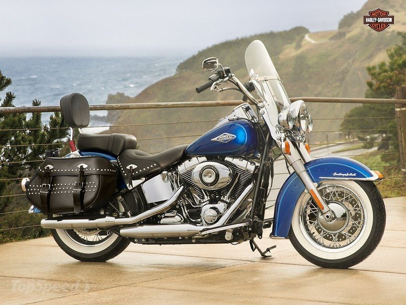 Harley-Davidson FLST 1340 Heritage Softail (reduced effect) 1988 #5