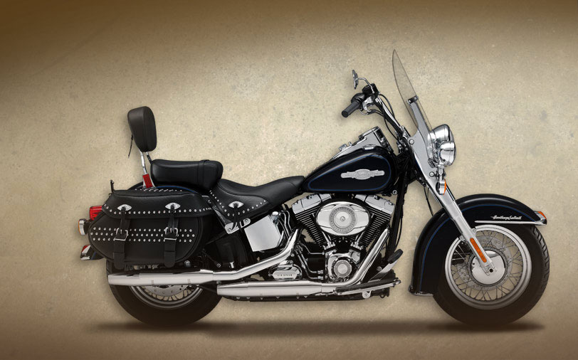 Harley-Davidson FLSTC Heritage Softail Classic Peace Officer 2008 #1