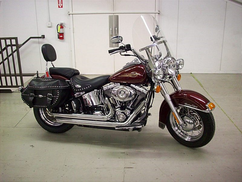 Harley-Davidson FLSTC Heritage Softail Classic Peace Officer 2008 #3