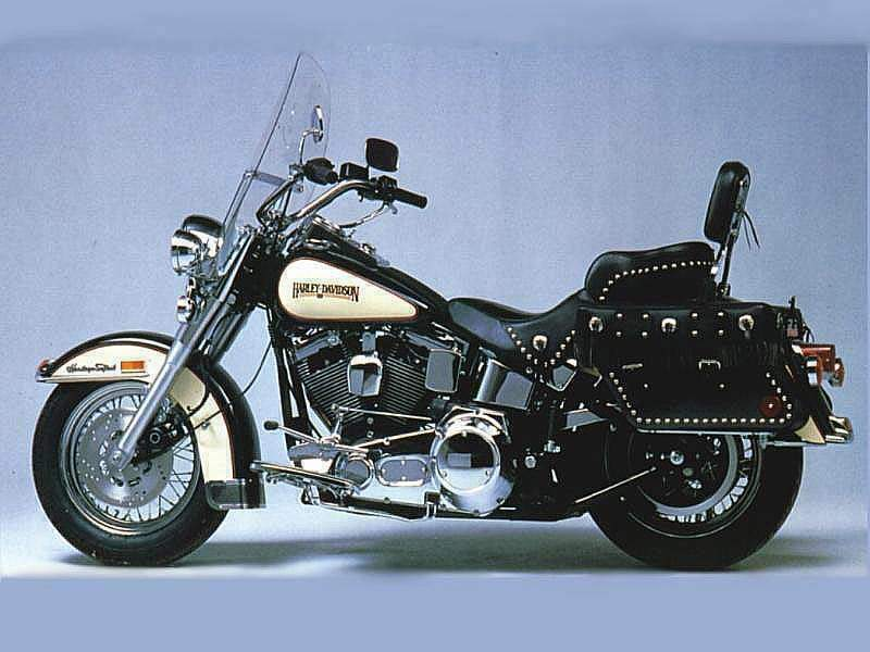 Harley-Davidson FLSTC Heritage Softail Classic Peace Officer 2008 #5
