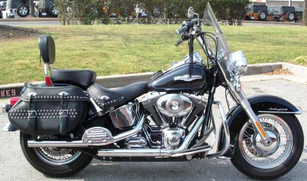 Harley-Davidson FLSTC Heritage Softail Classic Peace Officer 2008 #6