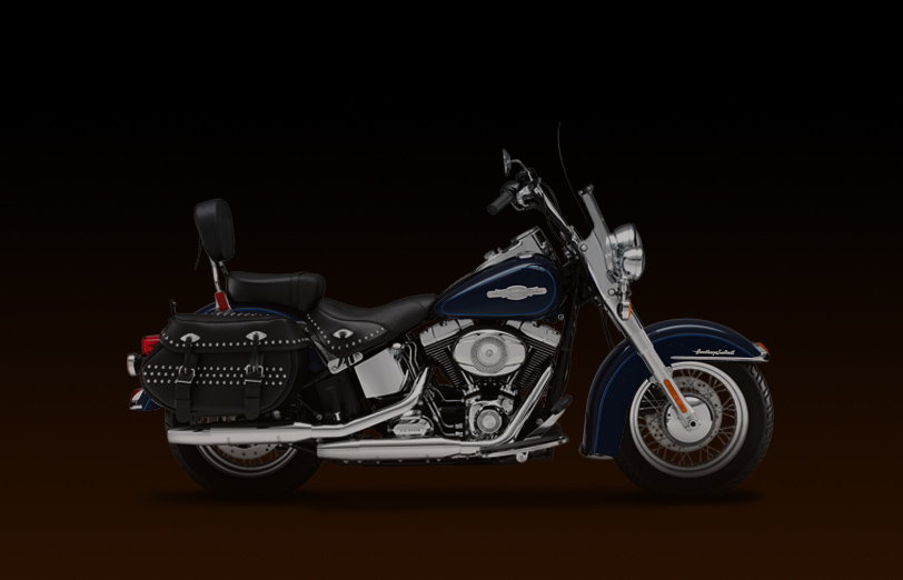 Harley-Davidson FLSTC Heritage Softail Classic Peace Officer 2008 #7