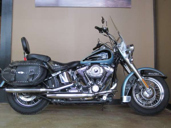 Harley-Davidson FLSTC Heritage Softail Classic Peace Officer 2008 #9