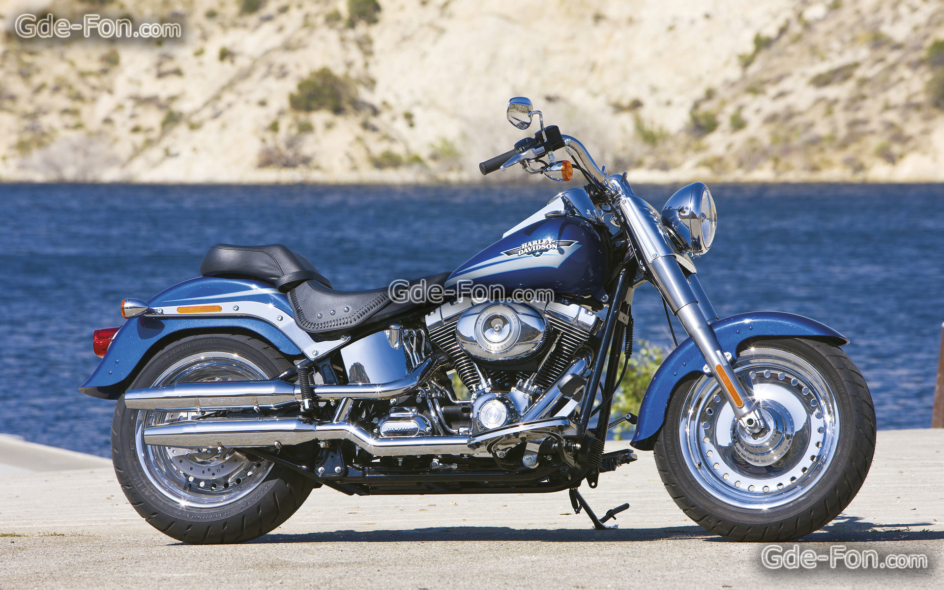 Harley-Davidson FLSTF Softail Fat Boy 2008 #12