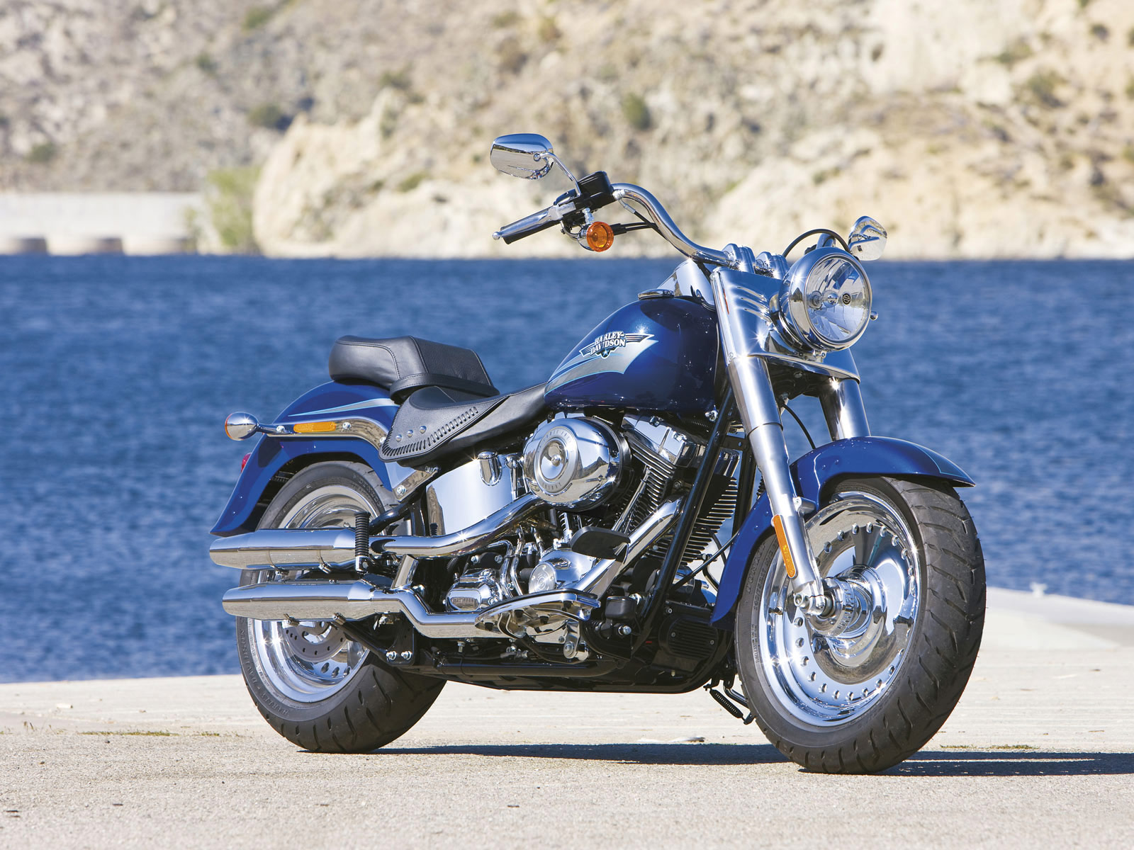 Harley-Davidson FLSTF Softail Fat Boy 2008 #4