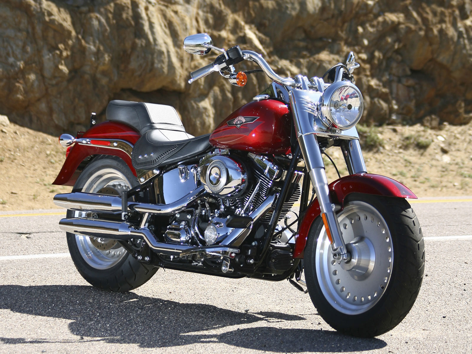 Harley-Davidson FLSTF Softail Fat Boy 2008 #5