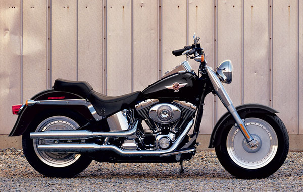 Harley-Davidson FLSTF Softail Fat Boy 2008 #9