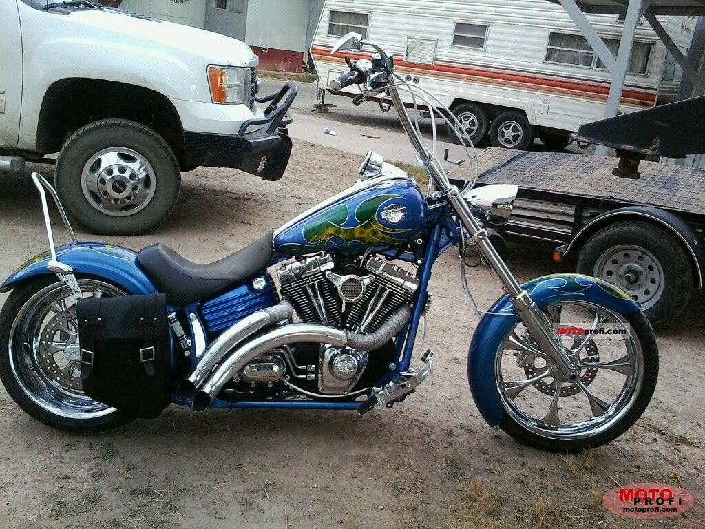Harley-Davidson FXCSTS Softail Screamer 2000 #2