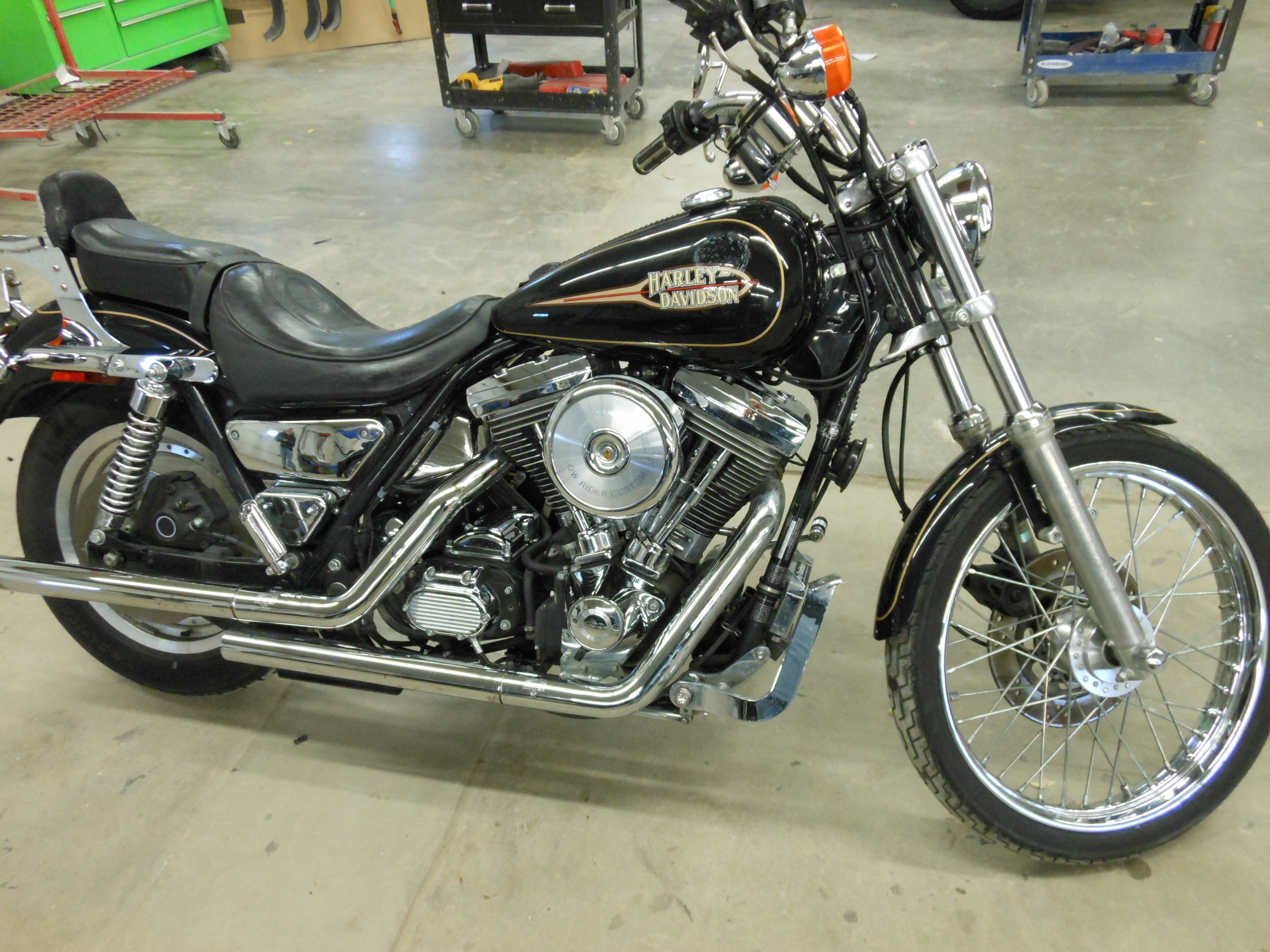 Harley-Davidson FXRS 1340 Low Rider (reduced effect) 1989 #5