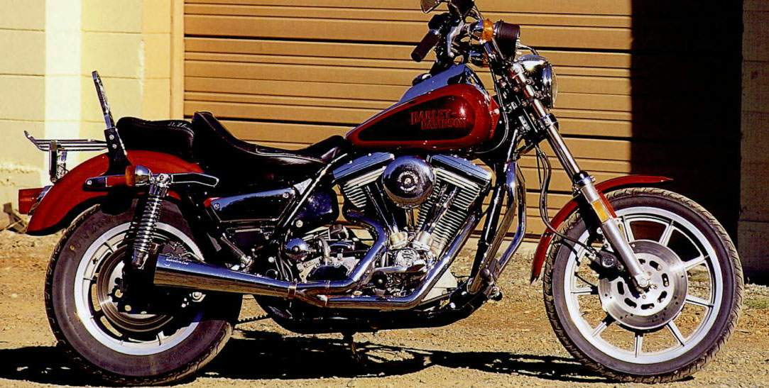 Harley-Davidson FXRS 1340 Low Rider (reduced effect) 1989 #8